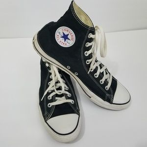 Converse High Tops Black Mens Sz 11 Womens Sz 13